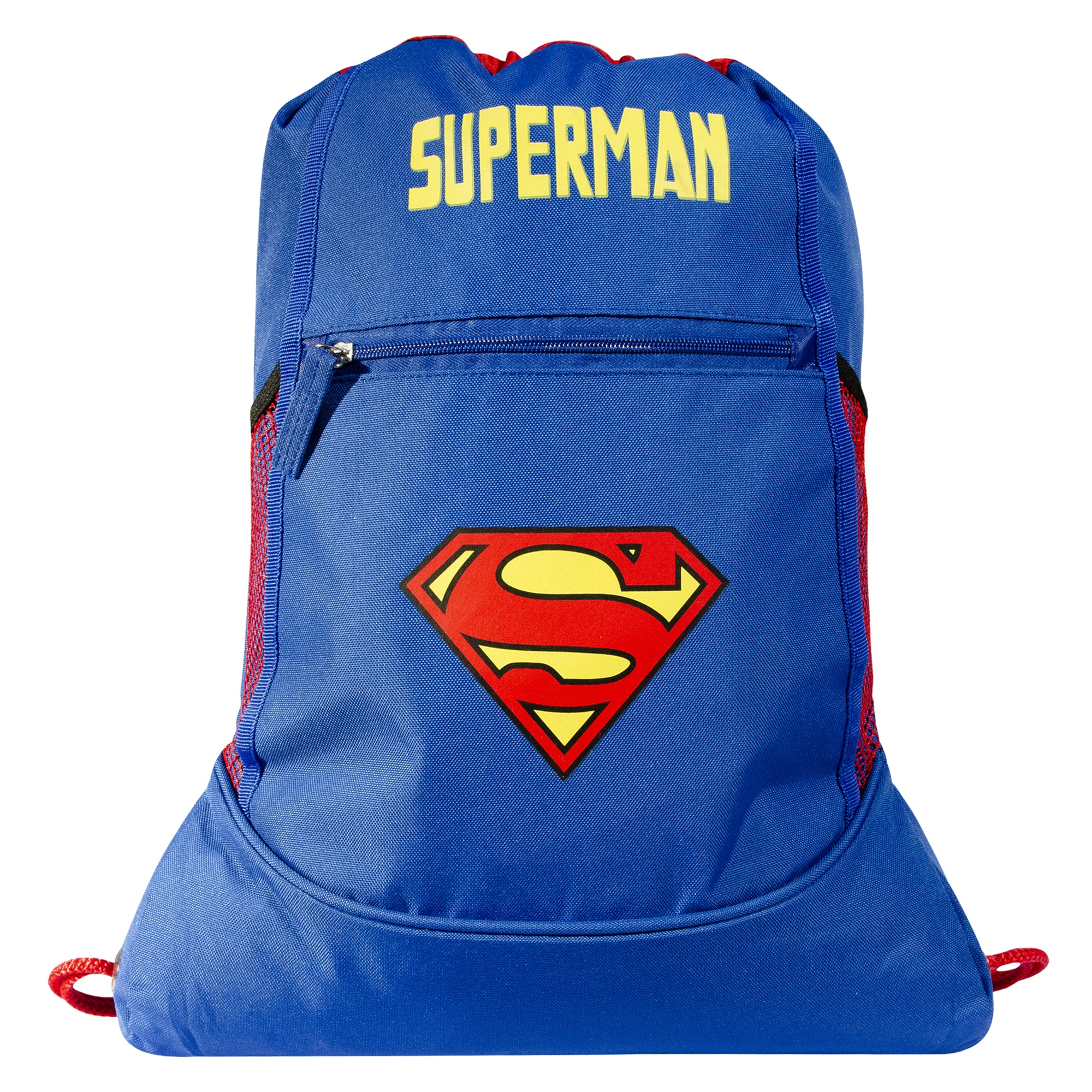 DC Comics Morral Fashion Superman Logo color Azul