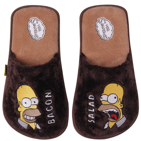 The simpsons Pantuflas Homero Simpson Café hombre