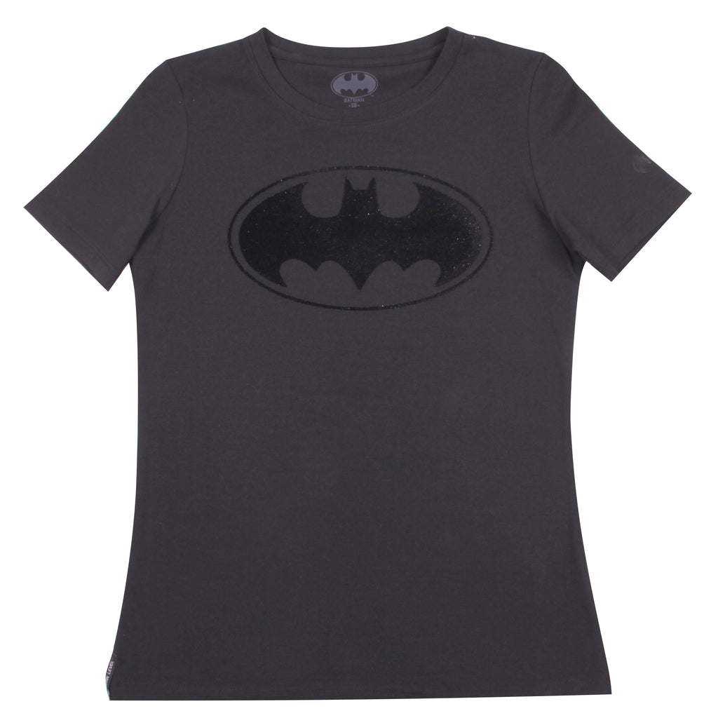Blusa Batman Flock Black and Black