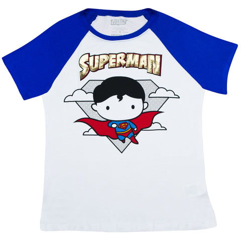 Blusa Superman Chibi Foil