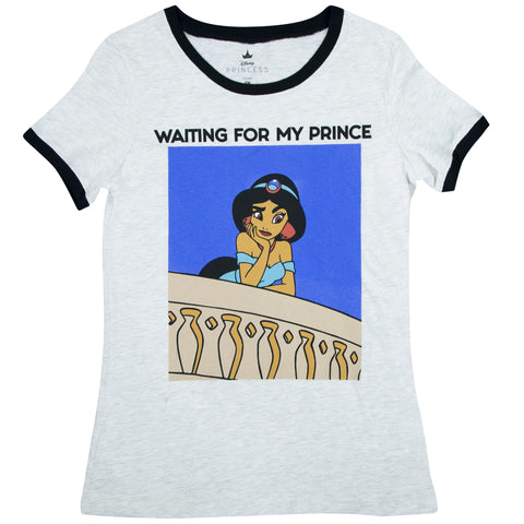 Playera Waiting for my Prince