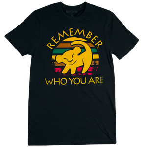 Playera Remember who you are
