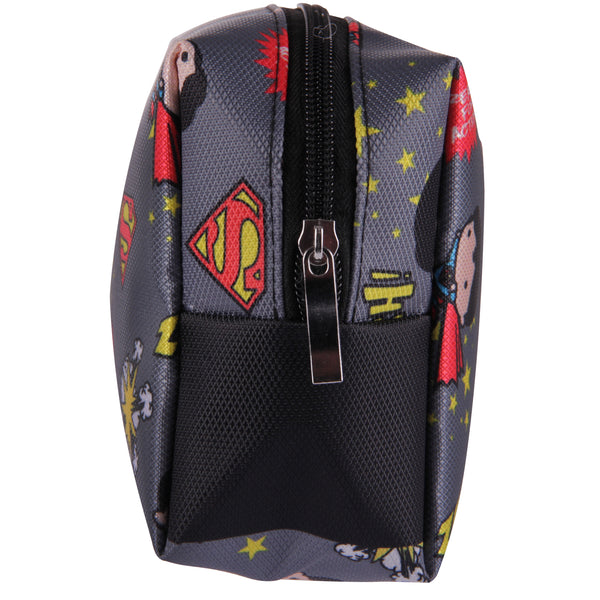 DC Comics Estuche Multifuncional de Superman color gris
