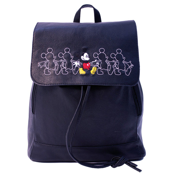 Disney Mochila de Mickey Mouse color Negro