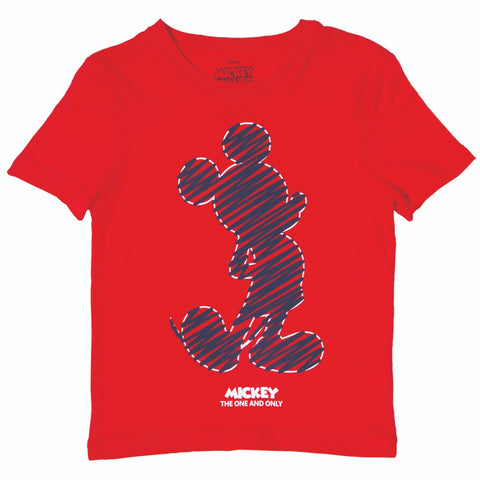Playera Mickey Scratches