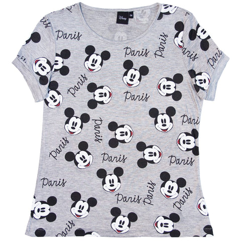 Blusa Mickey Mouse Full Print Paris