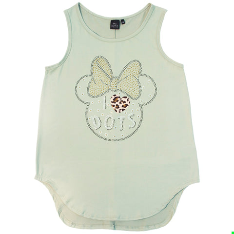 Disney Tanktop Minnie Mouse Verde