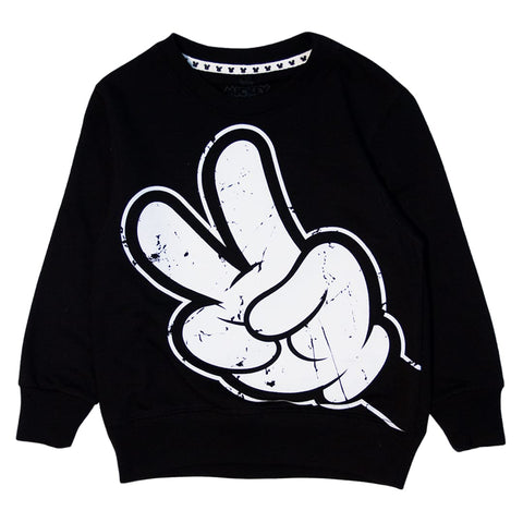 Sudadera Mickey peace