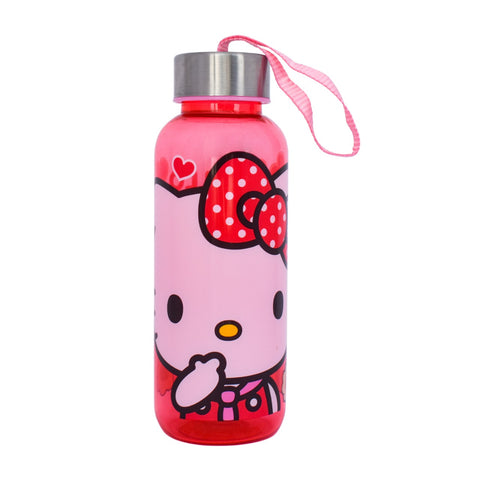 Botella con tapa de metal Hello Kitty