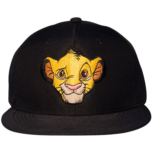 Disney Gorra Visera Plana The Lion King Simba Negro