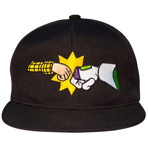 Disney Gorra Visera Plana Toy Story You Have A Friend In Me Negro