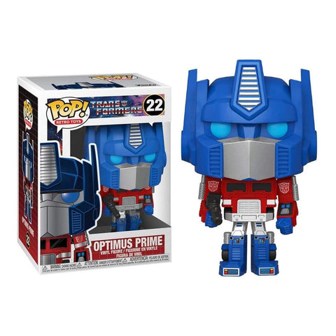 Funko POP! Retro Toys Transformers Optimus Prime 22