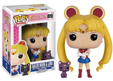 Funko POP! Animation Sailor Moon & Luna 89