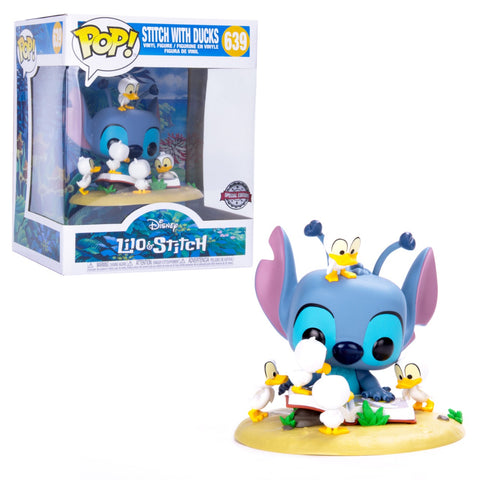 Funko POP! Disney Stitch With Ducks 639