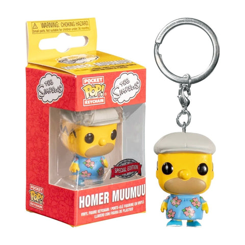 Pocket Funko POP! Keychain The Simpsons Homer Muumuu