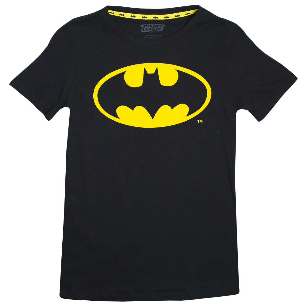 Blusa Batman Classic Black Woman