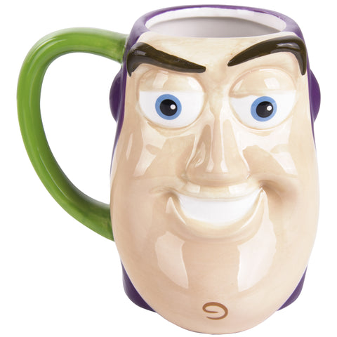 Toy Story Tarro Buzz lightyear smiley face.