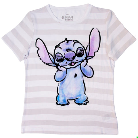 Playera Stitch Rayas