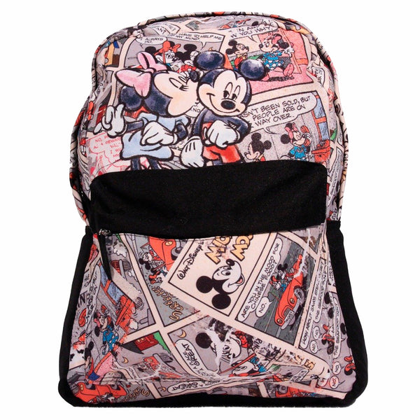 Disney Mochila de Mickey & Minnie color Negro