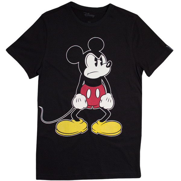 Disney Playera de Mickey Mouse Color Negro de Caballero