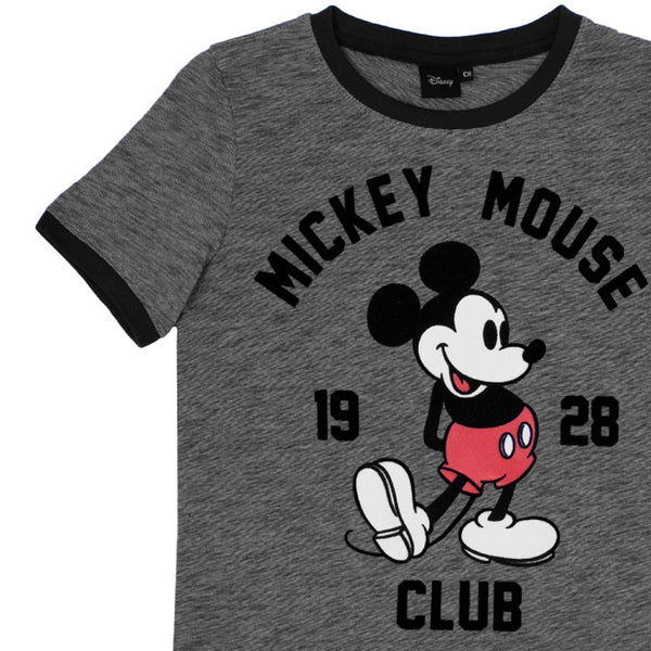 Playera Mickey Club Oxford Hombre