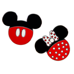Pack Pin Mickey and Minnie