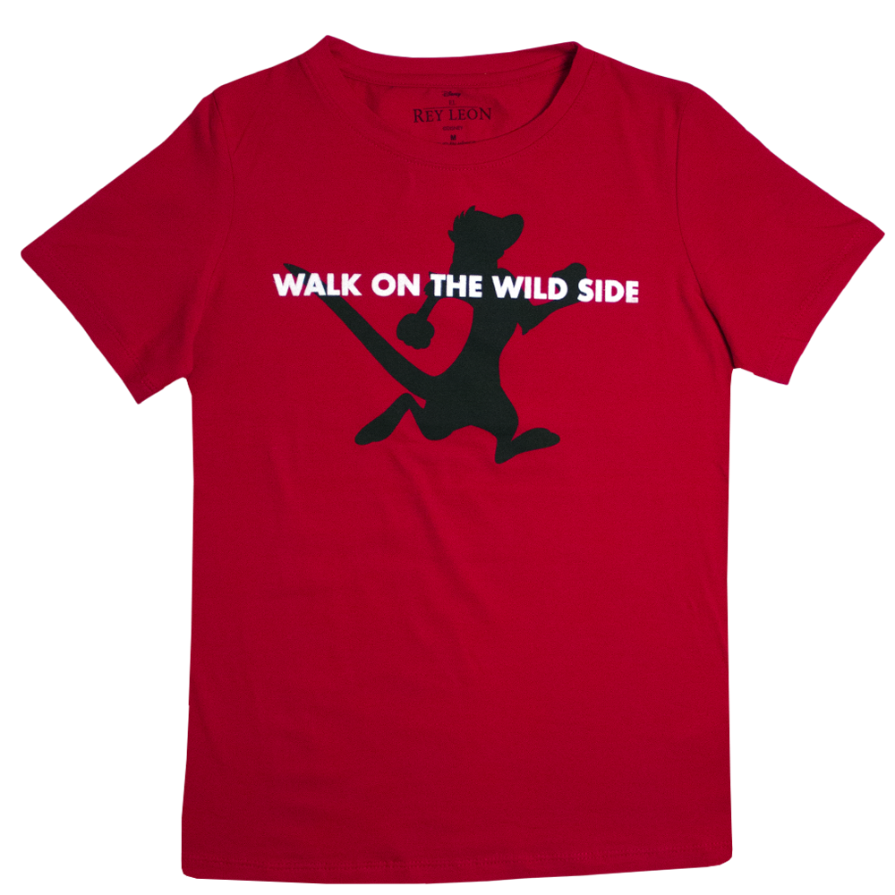 Playera Walk On The Wild Side