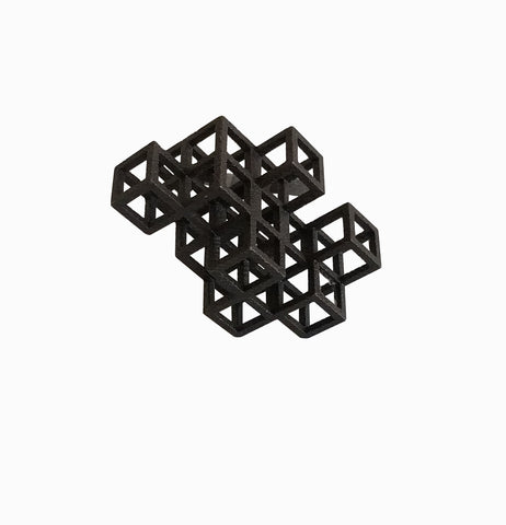 Cube System Ring - Black