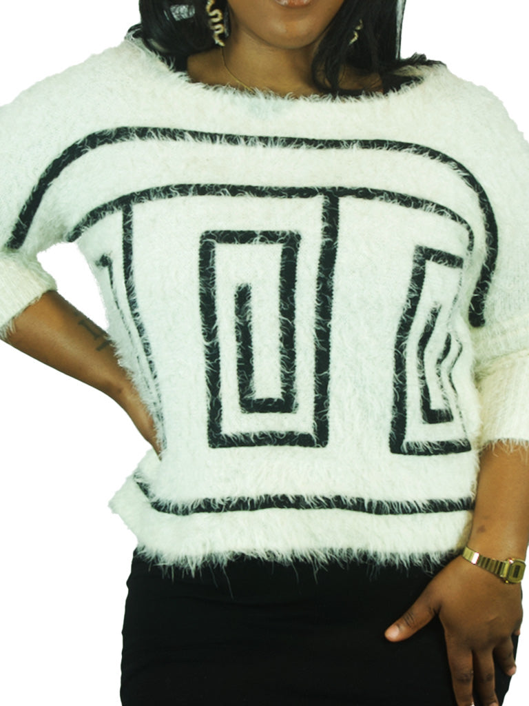Abstract Fuzzy Sweater