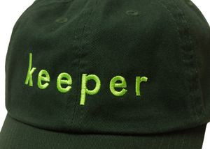 """KEEPER"" DAD CAP (FOREST)"