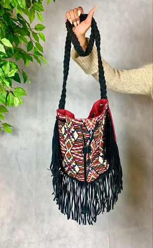 Tribal Fringe Shoulder Bag