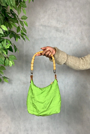 Lime & Bamboo Handbag