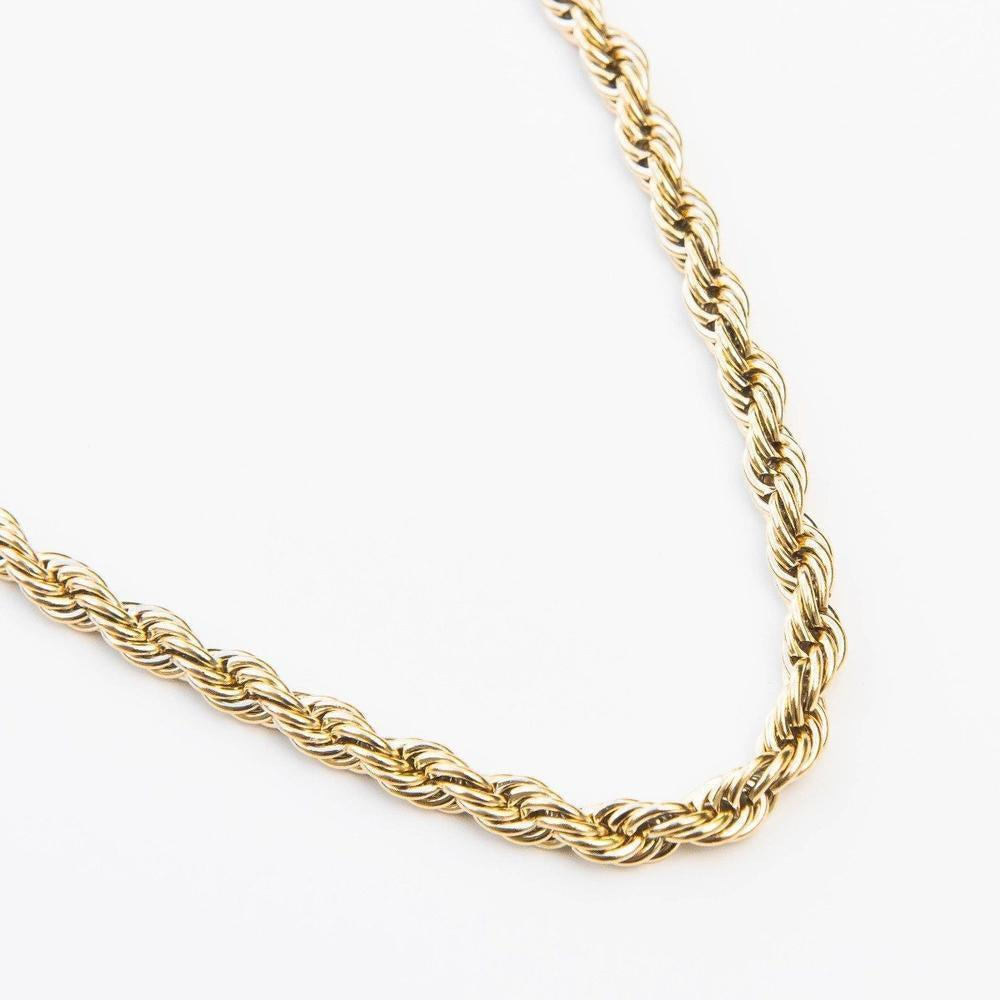Premium Rope Chain - (All Sizes & Colors)