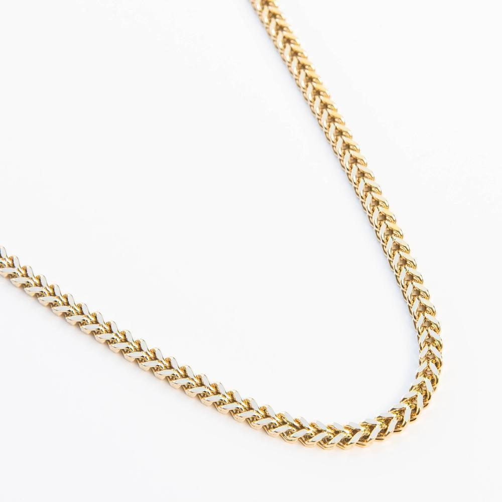 Premium Franco Chain - (All Sizes & Colors)