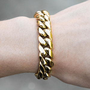 Premium Cuban Bracelet - (All Sizes & Colors)