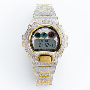 Fully Iced G-Shock (3 Color Options)