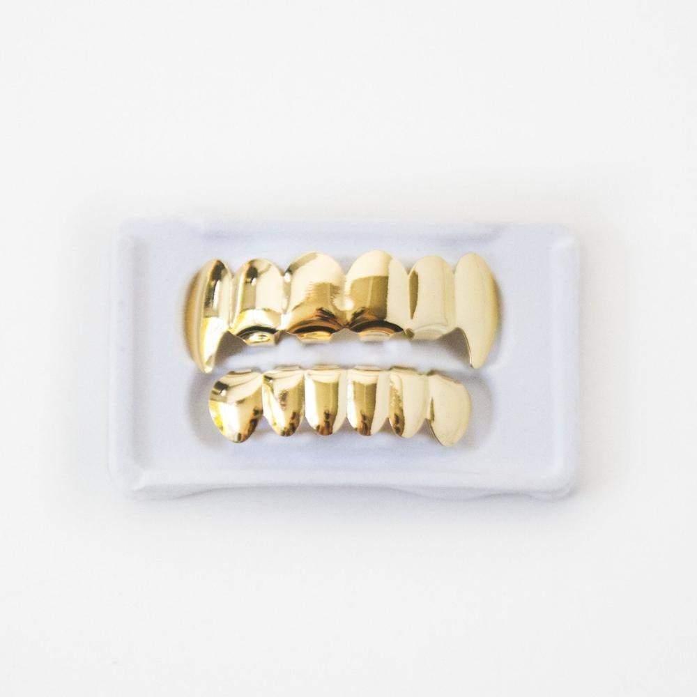 Gold Fang Grillz - (Gold/White Gold/Rose Gold)