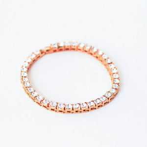 Iced Tennis Bracelet - (Gold/White Gold/Rose Gold)