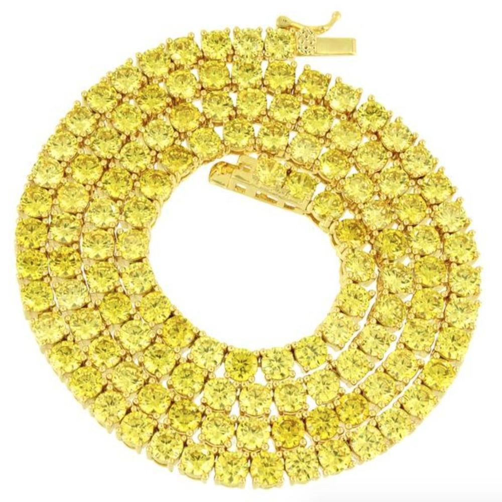 Canary 4mm Yellow Premium Tennis Chain *SALE*