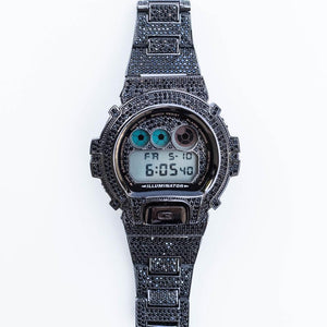 Black Fully Iced G-Shock