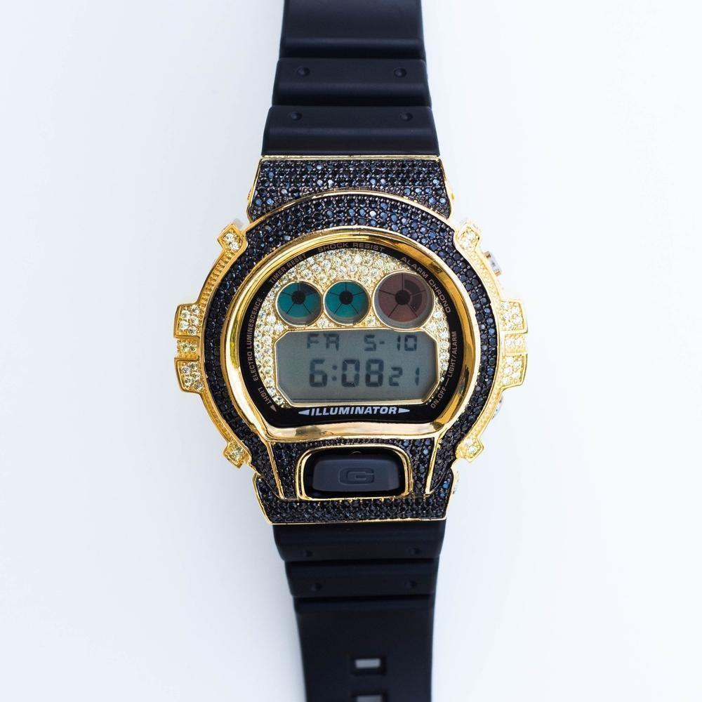 Black Iced Bezel G-Shock (2 Color Options)