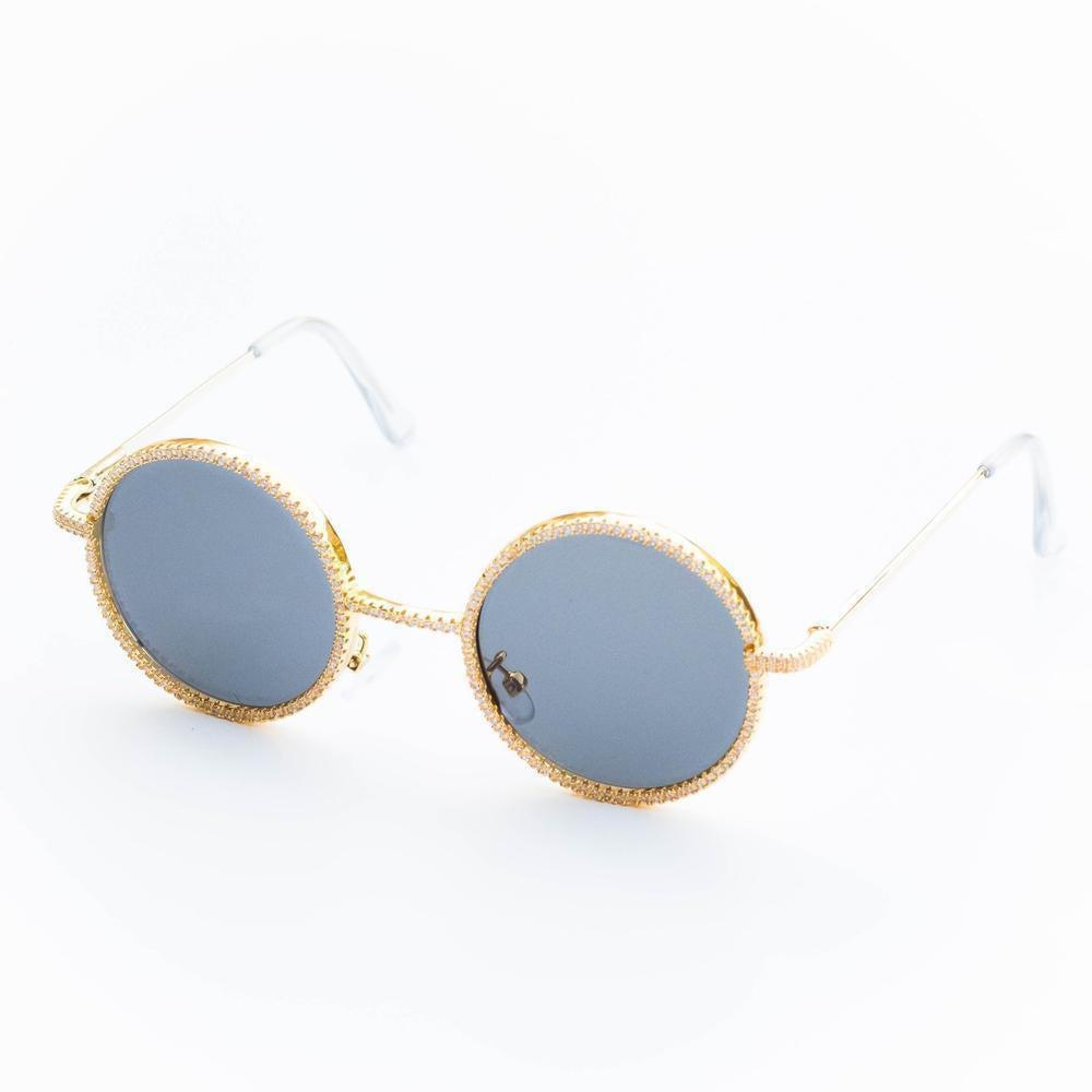 Circle Iced Sunglasses
