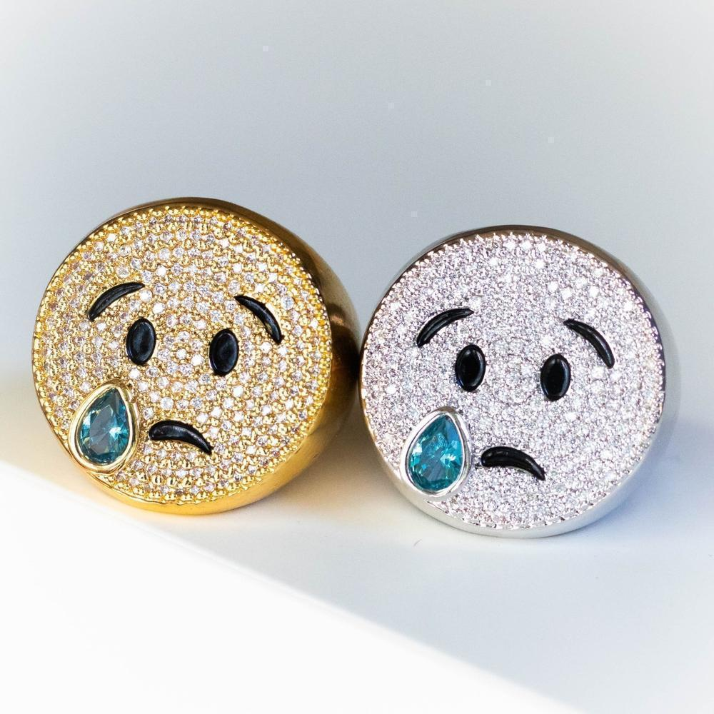 Crying Emoji Ring - (2 Color Options)