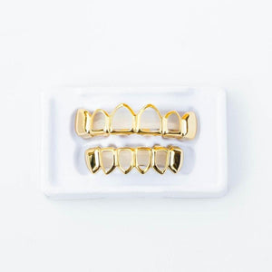 Open Face Grillz - (Gold/White Gold/Rose Gold)