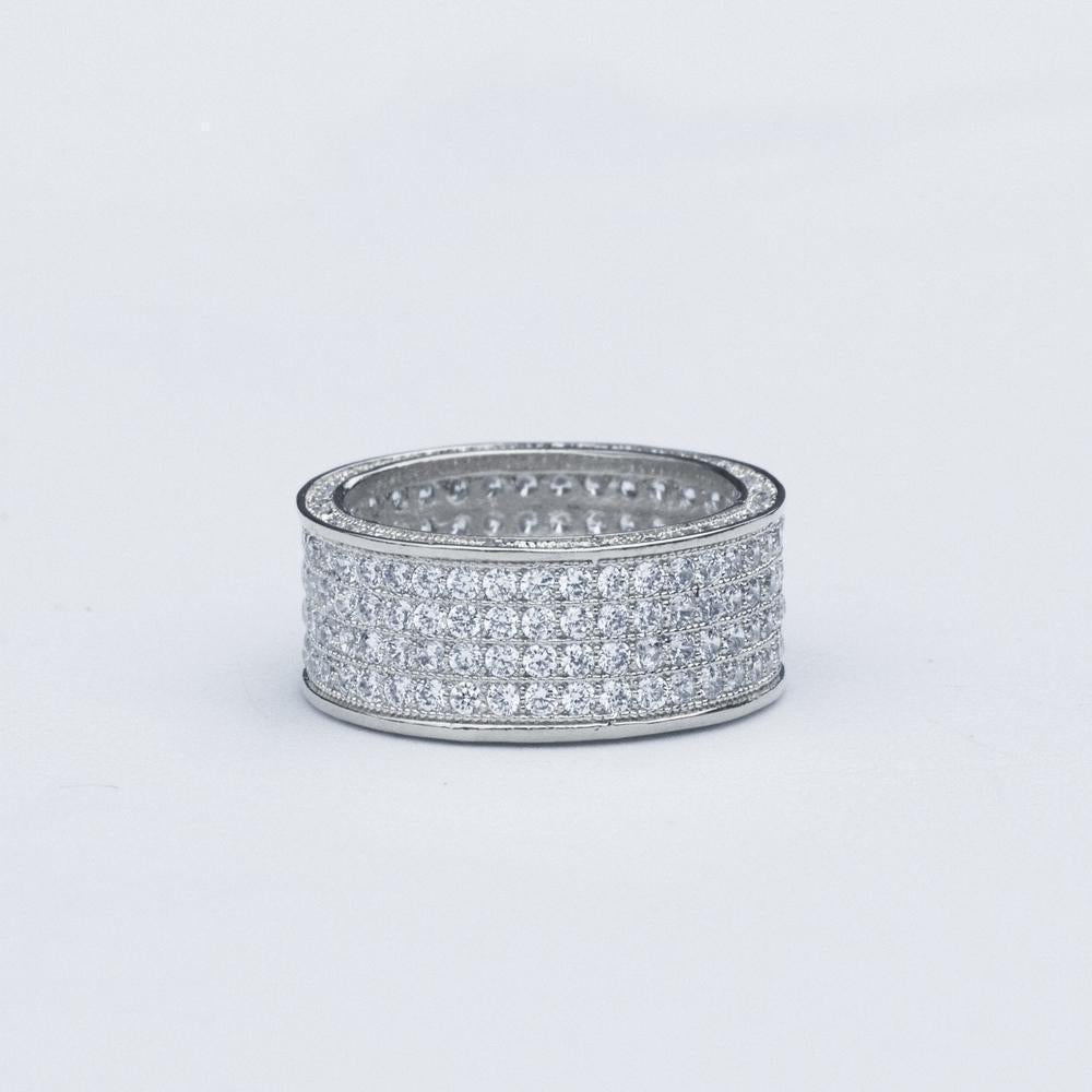 Circle Eternity Ring - (2 Color Options)