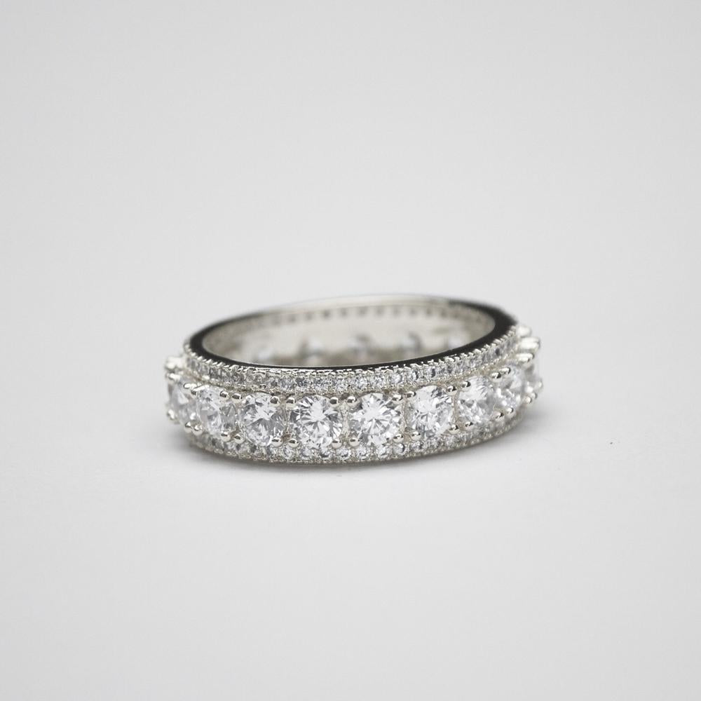 *Limited Edition* Brilliant Cut Eternity Ring - (2 Color Options)