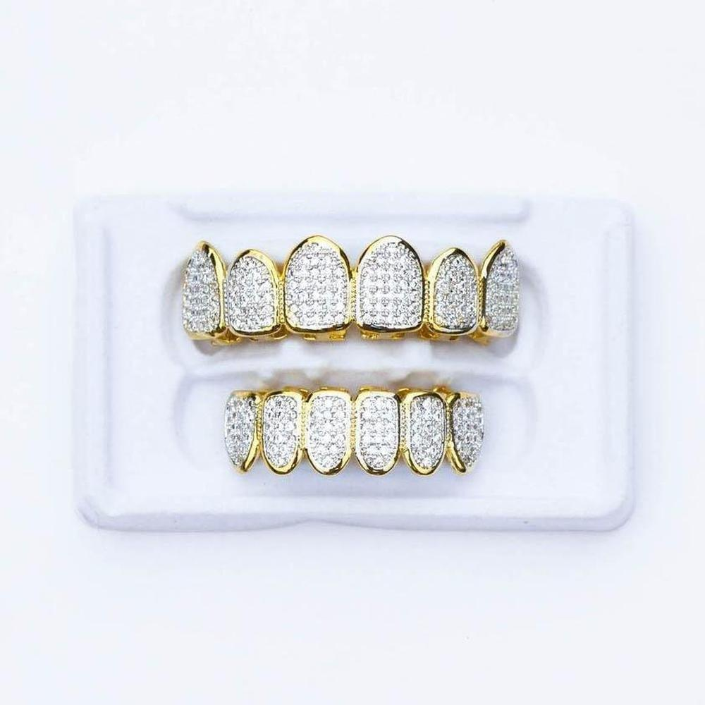 Fully Iced Grillz - (2 Color Options)