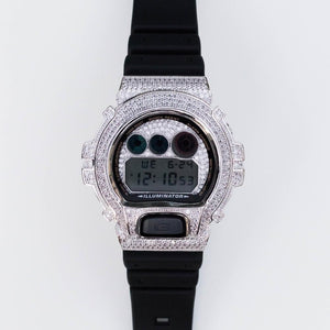 Iced Bezel G-Shock (Gold/White Gold)