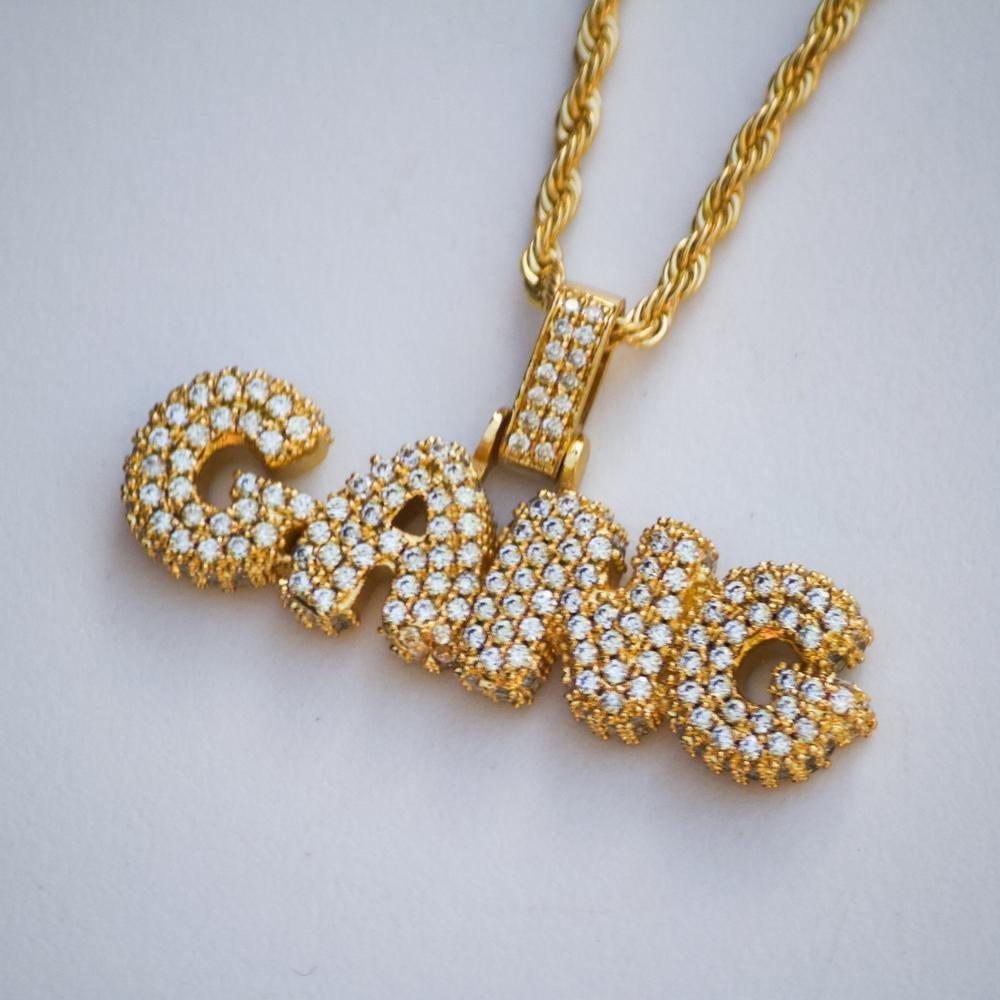 Iced GANG Bubble Pendant *CLEARANCE*