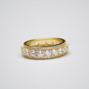 *SALE* Brilliant Cut Eternity Ring - (2 Color Options)